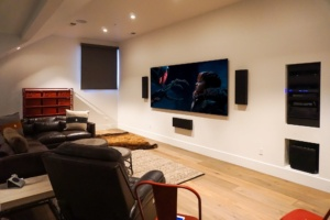 Custom Theater Screen