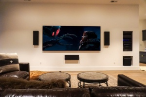 Custom Theater Screen 3